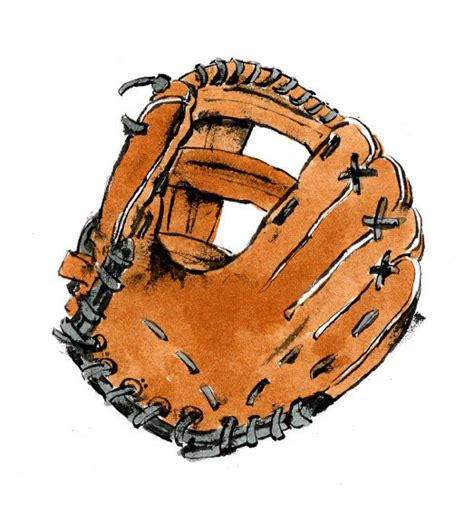 Baseball Glove Drawing Clipart Best Baseball Glove Clipart Best