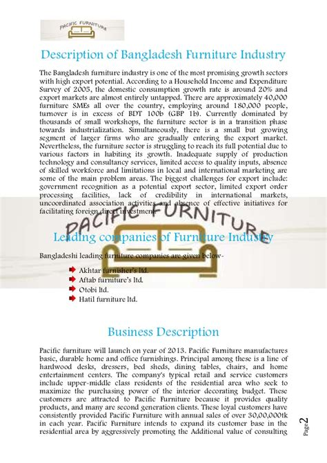 custom furniture business plan dissertationtitlesweb