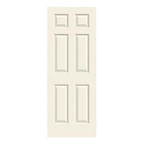 Home Depot 2 Panel Interior Doors by Jeld Wen 28 In X 80 In Colonist Vanilla Painted Textured