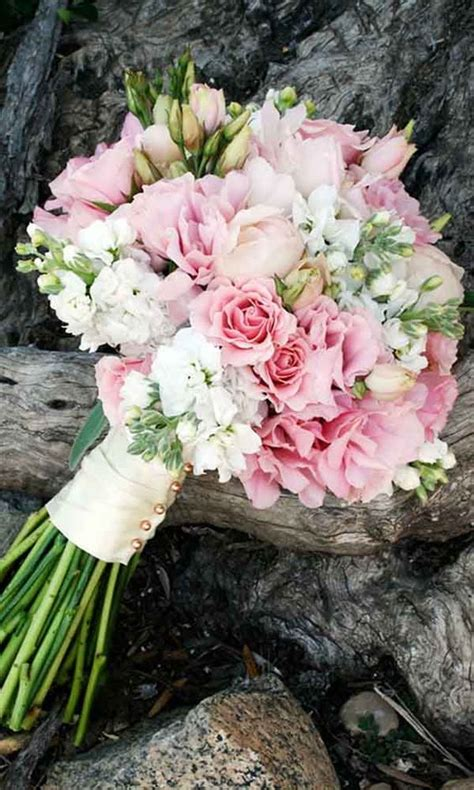 romantic spring summer wedding bouquets page