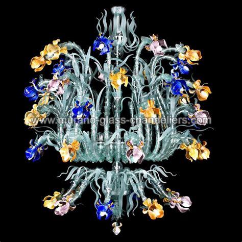quot gemma quot lustre en cristal de murano murano glass chandeliers