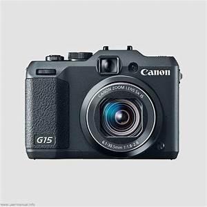 Canon Powershot G15 Digital Camera User Manual Guide