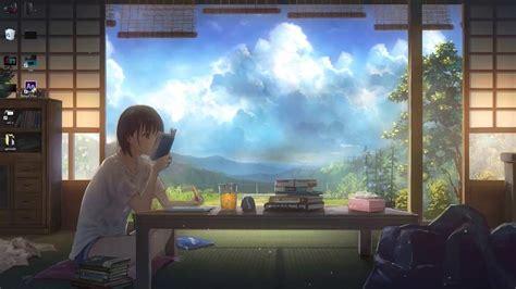 anime study wallpapers