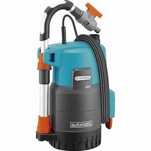 Pompe Avec Surpresseur : pompe d 39 vacuation eau de pluie gardena 4000 2 comfort ~ Premium-room.com Idées de Décoration