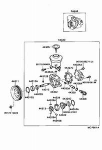 1998 Toyota T100 Power Steering Diagram