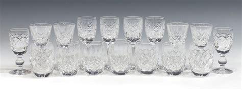 (17)waterford Cut Crystal Barware