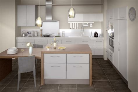 deco cuisine blanc et une cuisine lapeyre modèle de style et confort archzine fr