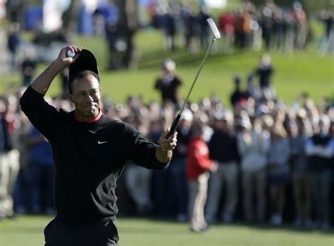 Tiger Woods wins at Torrey Pines; Jimmy Walker 4th