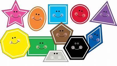 Clip Math Preschool Clipart Shapes Kindergarten Worksheets