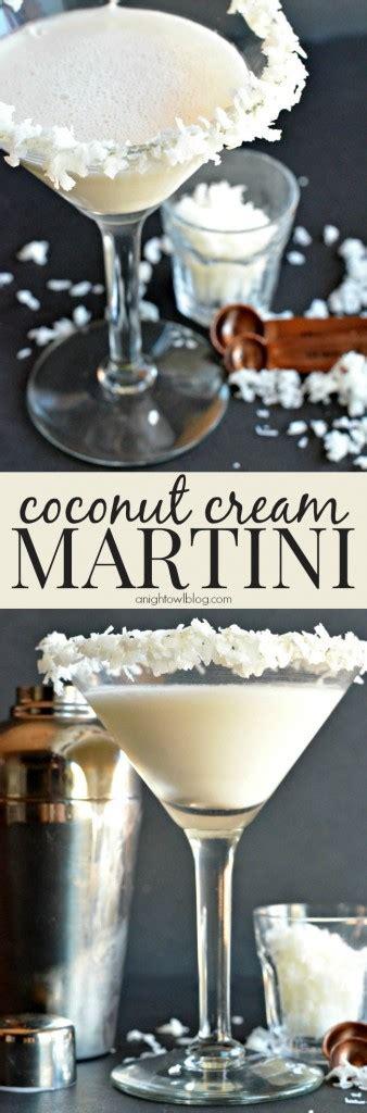 coconut martini coconut cream pie martini