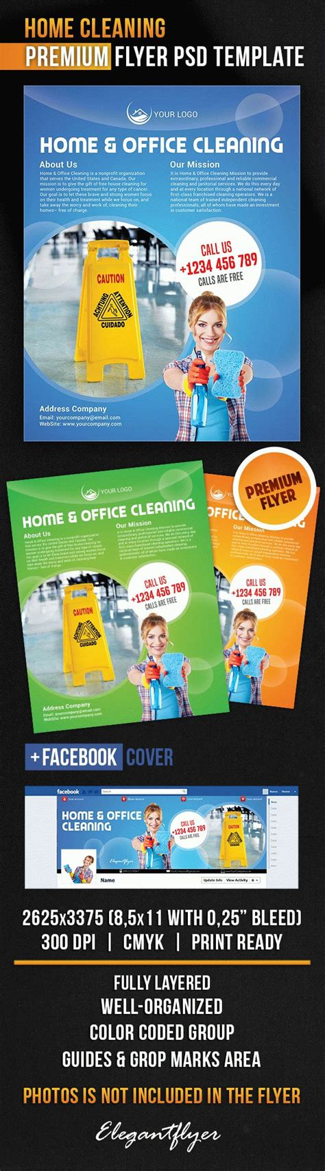 Cleaning Services Bi Fold Template By Elegantflyer Home Cleaning Flyer Psd Template By Elegantflyer