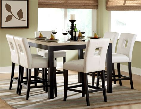 archstone counter height dining room set  homelegance