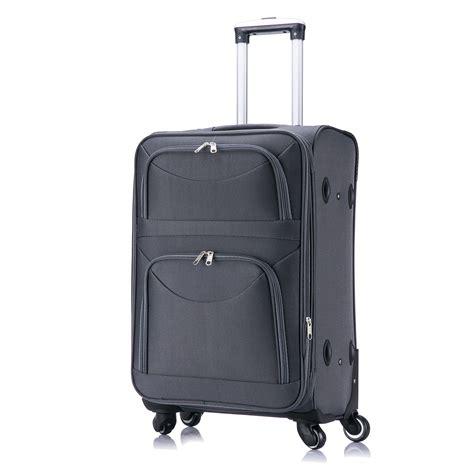 koffer handgepäck leicht koffer trolley weichgep 228 ck reisekoffer set stoff handgep 228 ck m l xl 4 rollen 468 ebay