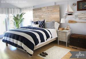 Nautical bedroom decor ideas home diy for Nautical bedroom ideas