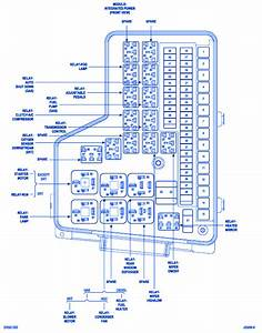 Dodge Cummins 2009 Power Distribution Fuse Box  Block Circuit Breaker Diagram  U00bb Carfusebox