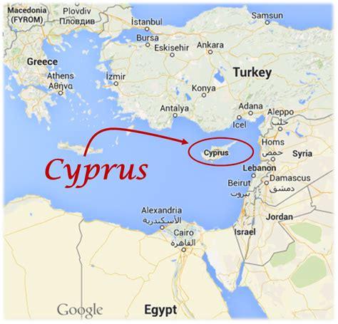 cyprus map syria