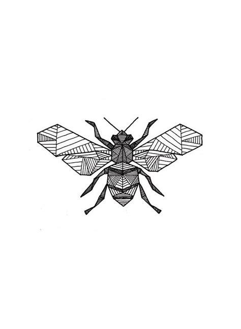 Geo bee | Bumble bee tattoo, Bee art, Bee tattoo