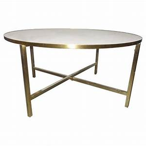 white marble round gold base coffee table With gold and white marble coffee table