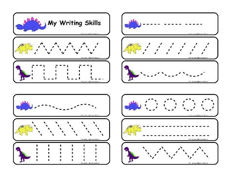 kindergarten writing worksheets preschool worksheets line tracing free printable