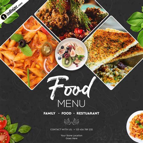 food banner design template  psd  indiater