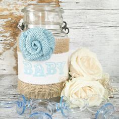 shabby chic baby boy shower vintage baby shower decor for 5 jars shabby by denadanielledesigns baby shower pinterest