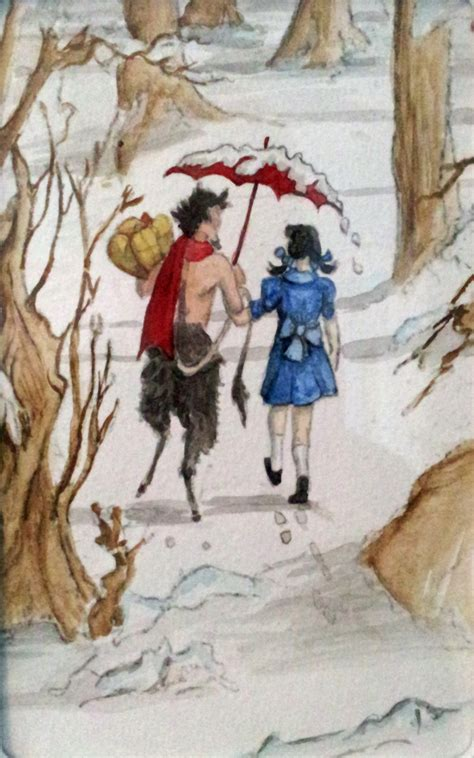 Lucy And Mr Tumnus By Kielymb On Deviantart