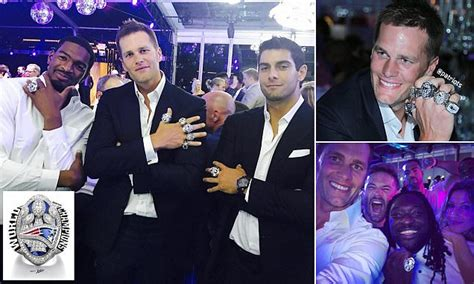 england patriots host  super bowl ring party