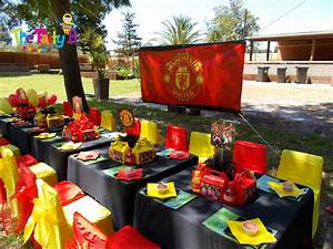 Manchester united themed party cape town - The Party B