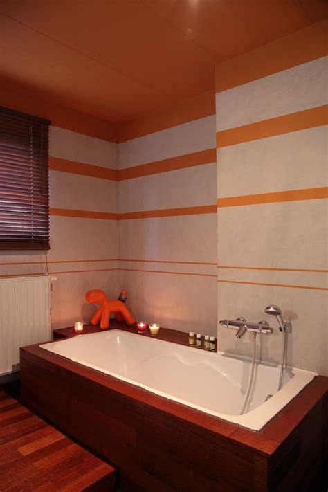 chambre beige salle de bain tadelak photo 1 2 3509065