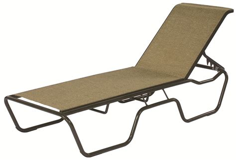 commercial sling chaise lounge sanibel stacking outdoor
