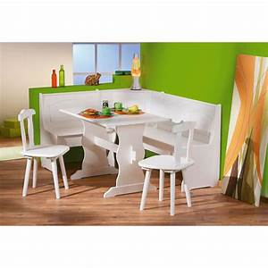 coin repas table rectangulaire chaise banc banquette With banquette cuisine coin repas