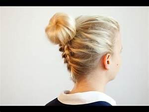 Haarband Für Dutt : dutt mit franz sisch geflochtenem nacken flechtanleitung und tutorial youtube ~ Frokenaadalensverden.com Haus und Dekorationen