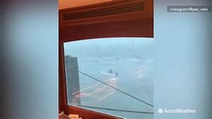Man dangerously takes on Hurricane Dorian on boat   king5.com