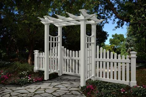 white fence ideas images  pinterest flowers