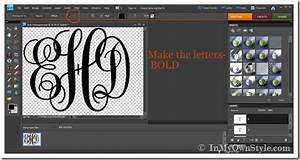 create your own monogram initials free joy studio design With how to make a monogram