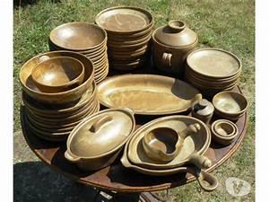 Vaisselle En Grès : ambiance service de table gres vaisselle maison ~ Dallasstarsshop.com Idées de Décoration