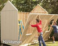 how to build a garden shed How to Build a Cheap Storage Shed   The Family Handyman