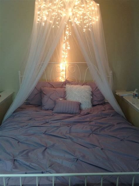 Bedroom Canopy best 25 bed canopy with lights ideas on bed
