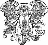 Mandala Elephant Coloring Dxf Clipart Autocad Elephantidae Transparent Drawing Vector Tattoo Uncategorized Heart Indian Stretching Gambar Sideburns Inspirations Maori Resistance sketch template