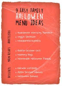 Fun Halloween Books For Adults by 9 Easy Family Halloween Menu Ideas