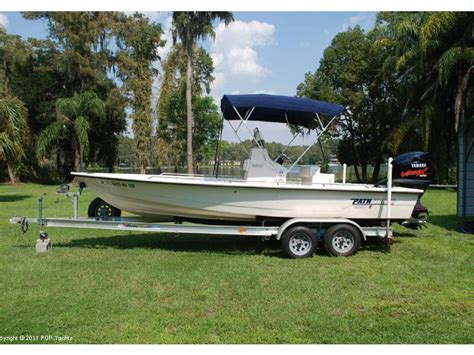 Used Pathfinder Boats In Florida by Pathfinder 2200 V Bay Boat In Florida Power Boats Used