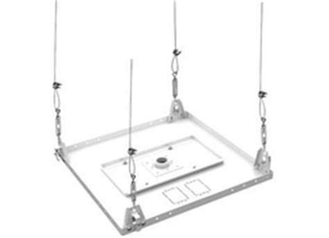 suspended ceiling kit for projector mounts