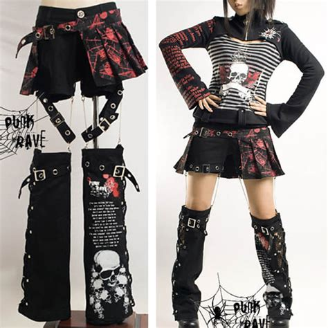 I AM IN LOVE WITH THIS! 3 Piece Punk Rave Emo Scene Fashion Clothing Shorts u0026 Leg Warmers ...