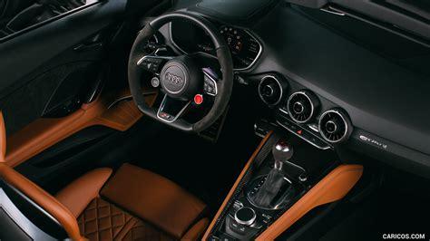 audi tt rs roadster interior hd wallpaper