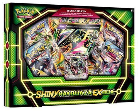 rayquaza ex deck ideas mega shiny rayquaza ex collection box cas