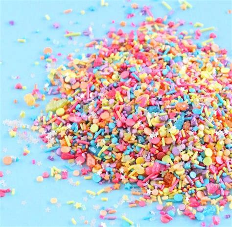 sprinklefetti unicorn rainbow sprinkle mix rainbow