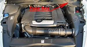 Fuse Box Diagram Porsche Cayenne  92a  E2  2011