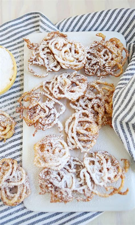 super easy funnel cakes  beautiful mess