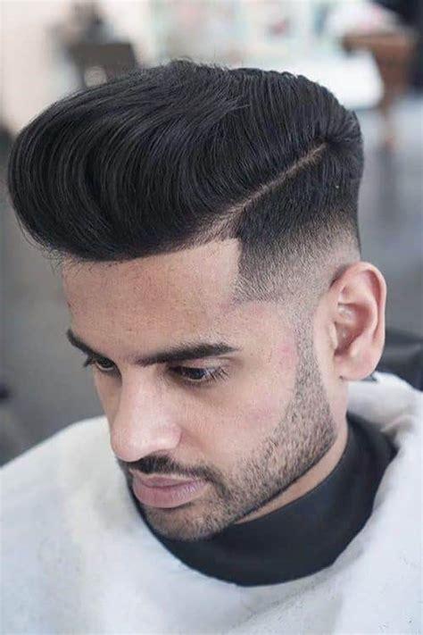 catalog   trendiest pompadour fade haircuts