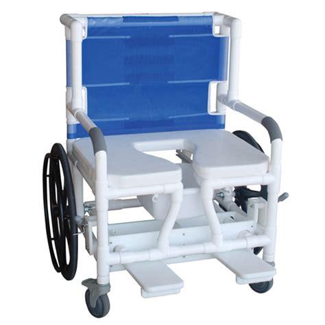 bariatric shower commode transferchair 140 26bar 24w